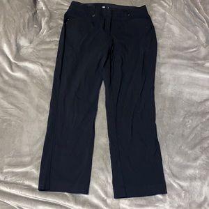 NWOT JM collection black stretchy business pants